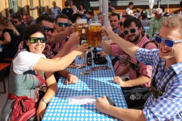Oktoberfest Flumserberg mit bayrischen Spezialitäten
