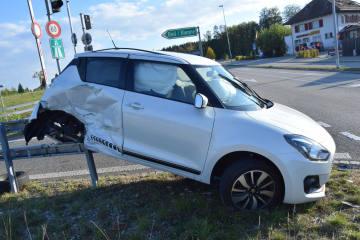 Biberist SO - Totalschaden zweier Autos nach Unfall