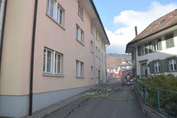 Mümliswil SO - Wohnung nach Brand unbewohnbar