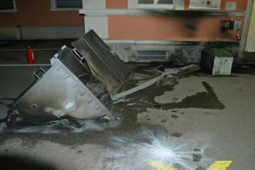 Wolhusen LU  – Brandstiftung an Gemeindehaus