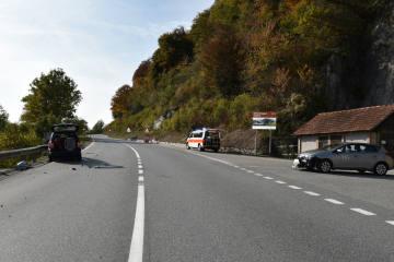 Tamins GR - Bei Einbiegemanöver Auto übersehen