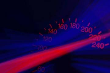 Rotkreuz ZG - Raser mit 252 km/h unterwegs
