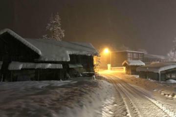 Massiver Wintereinbruch in erhöhten Lagen