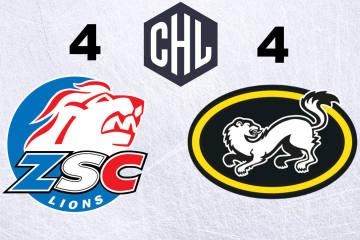 Die ZSC Lions wahren Chancen auf Weiterkommen