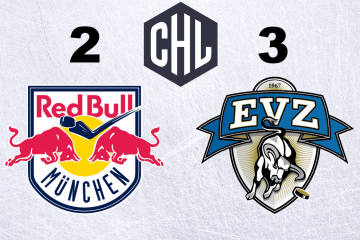 Der EVZ gewinnt in München
