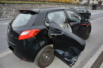 Schaan/Vaduz FL - Kollisionen richten Sachschaden an