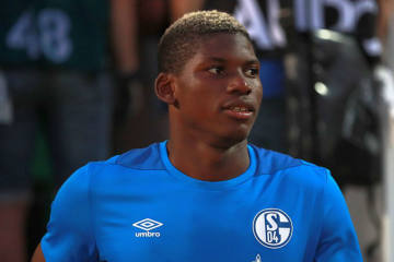 Embolo mit Fussbruch out