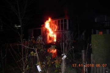Aadorf TG - Brand in einem Mehrfamilienhaus