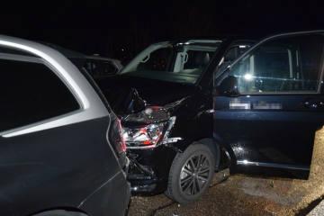 A1 bei Niederbipp SO - Auffahrkollision mit sechs beteiligten Autos