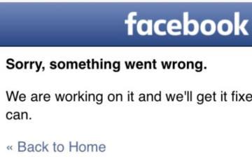 Weltweite Panne auf Facebook