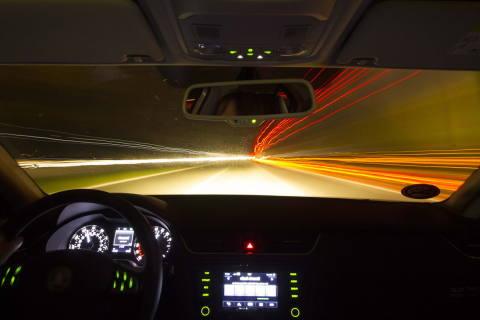 Heitenried FR - Massive Geschwindigkeitsüberschreitung