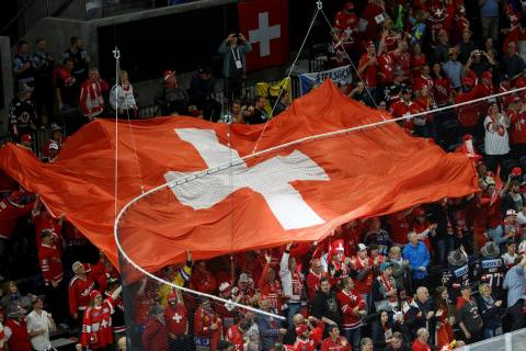 Offizieller Fanempfang für die Schweizer Nationalmannschaft