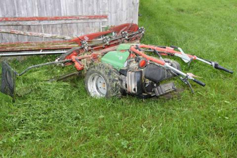 Schänis / Benken SG - Manipulierte Grasmäher – Zeugenaufruf