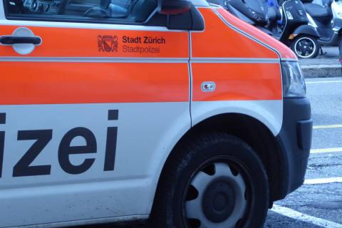 Zürich ZH - Stadtpolizei nach Schweizer Sieg pausenlos im Einsatz