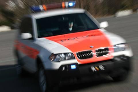 Vaduz FL - Velofahrer im Kreisel übersehen