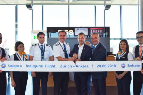 SunExpress hebt mit rund 200'000 Sitzen in Zürich ab