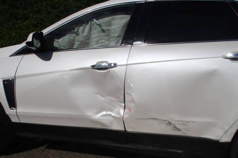 Dättwil (Baden) AG  - Verkehrsunfall auf Einmündung