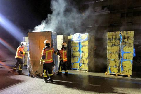 St. Gallen SG - Isolationsmaterial angezündet - Zeugenaufruf