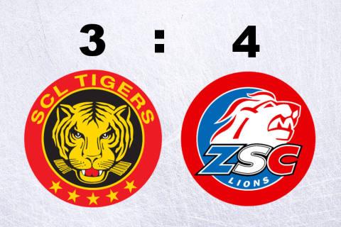 Die ZSC Lions schlagen die SCL Tigers