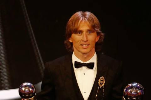 Luka Modric ist Weltfussballer des Jahres