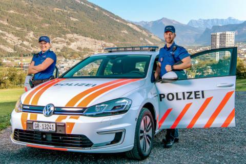 Chur GR - Grosser Sachschaden bei Verkehrsunfall