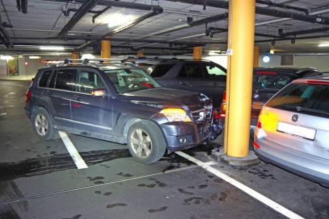 Chur GR - 88-Jähriger beschädigt bei Kollision vier Autos