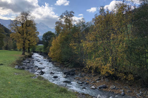 Schweiz - Oktober bisher sehr sonnig und trocken