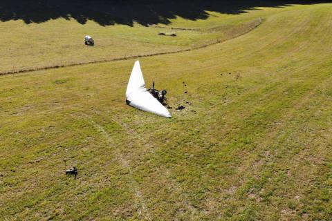 Les Genevez JU - Verletzte bei Unfall mit Ultraleichtflugzeug
