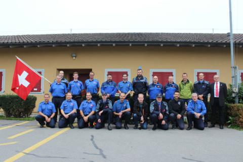 Zug: Silbermedaille für die Zuger Polizei