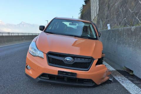 A3/Mühlehorn GL - Sekundenschlaf führt zu Unfall