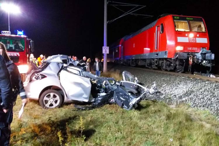 Unfall Zug
