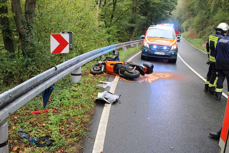 Kürten Unfall