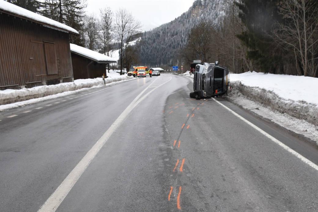 Verkehrsunfall in Schnaus