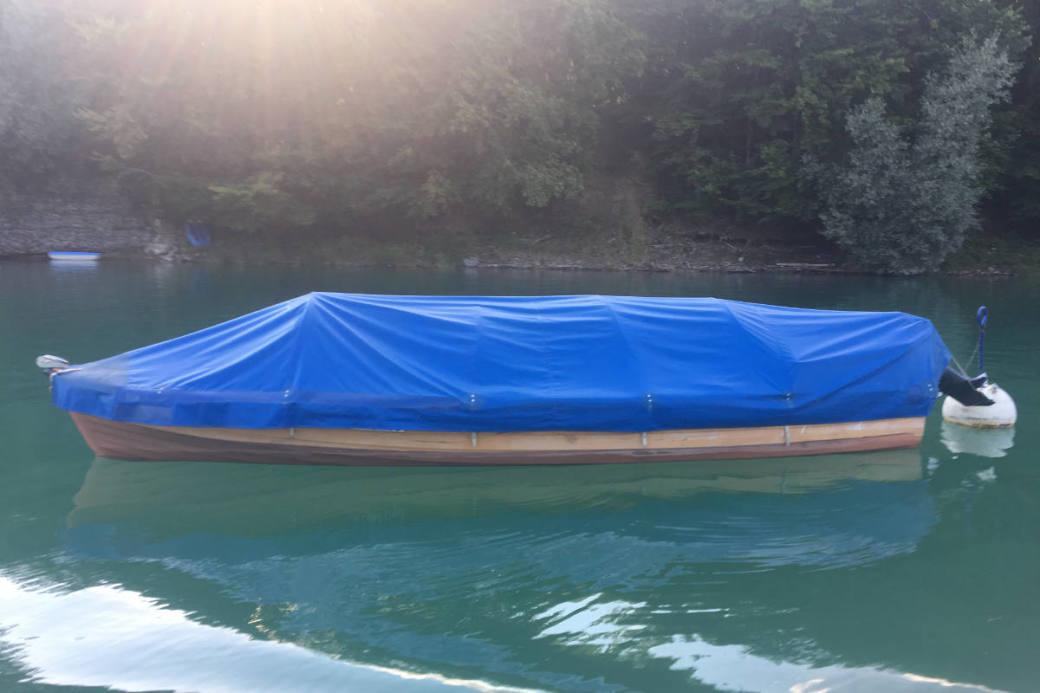 Das Boot des Vermissten Fischers.