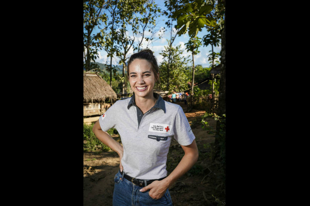 Im Oktober hat Laetitia Guarino bereits ein Projekt in Laos besucht.