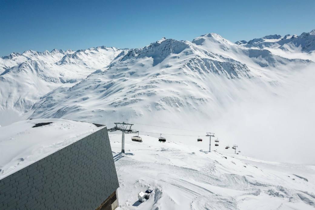 Bergstation Schneehüenerstock