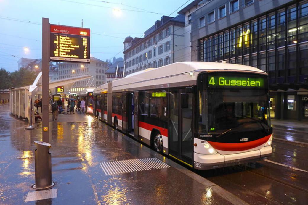Marktplatz St. Gallen (Archivbild)