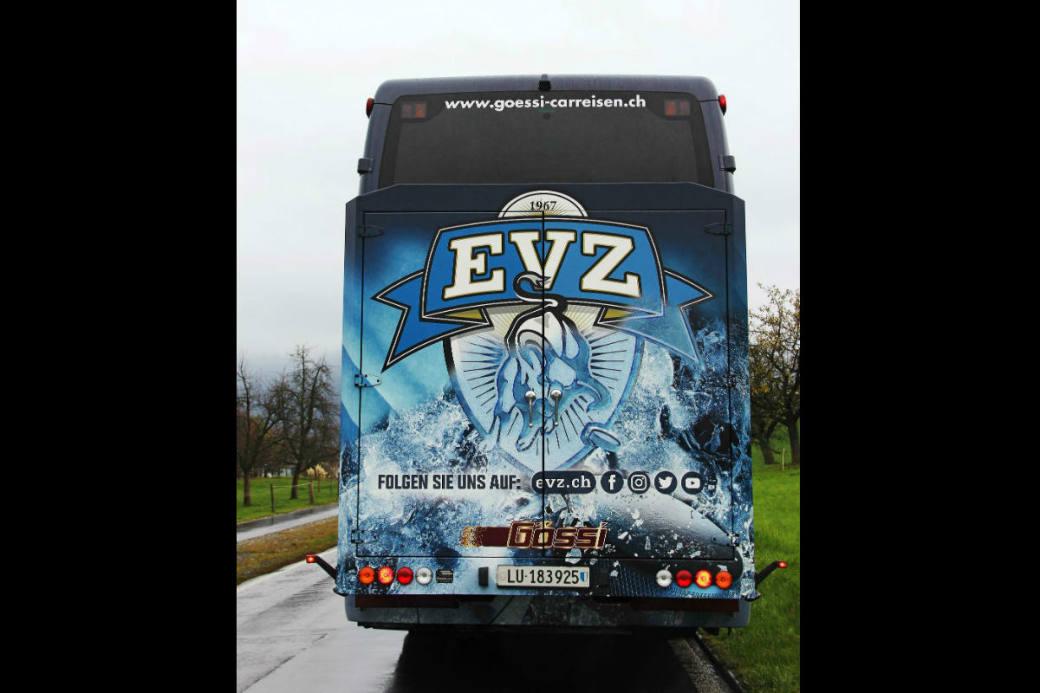 Ein modernes Design ziert den EVZ-Teamcar.