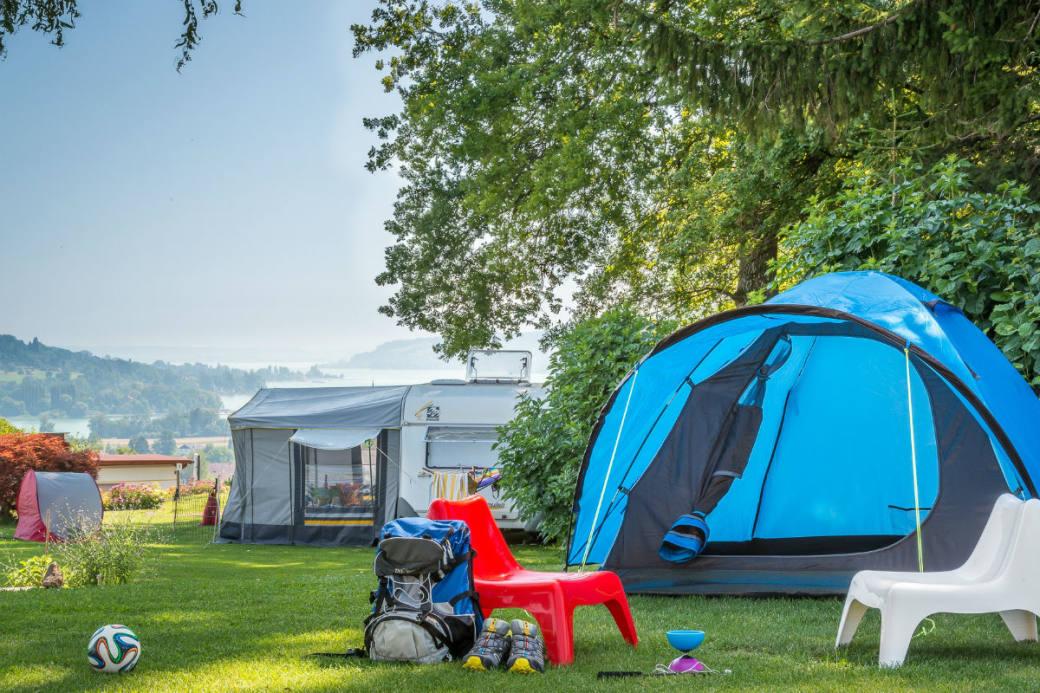 Der Camping Hüttenberg trumpft in der Schweiz.