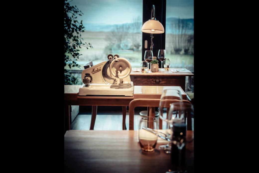 Tisch mit Seesicht