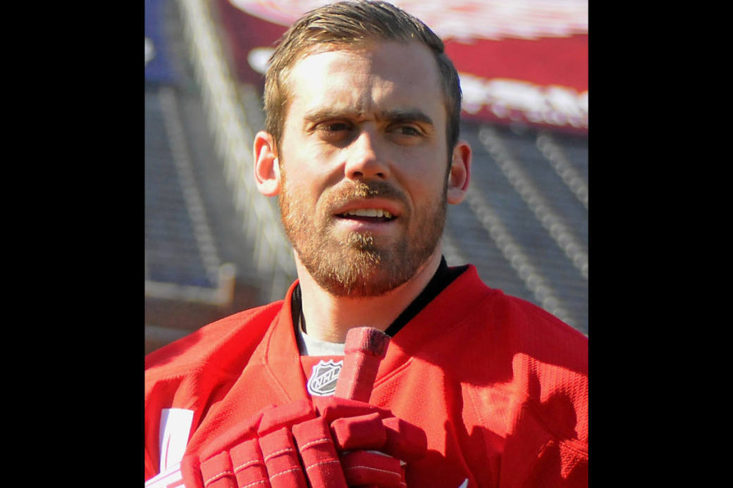 Henrik Zetterberg, Captain der Detroit Red Wings