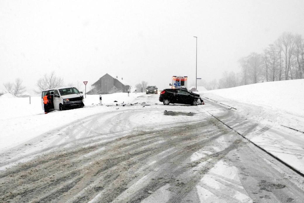 Unfall Seestrasse