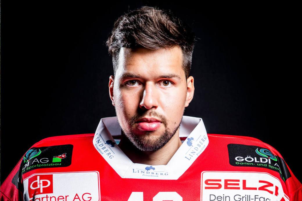 Fabio Haller vorübergehend zum EHC Basel.