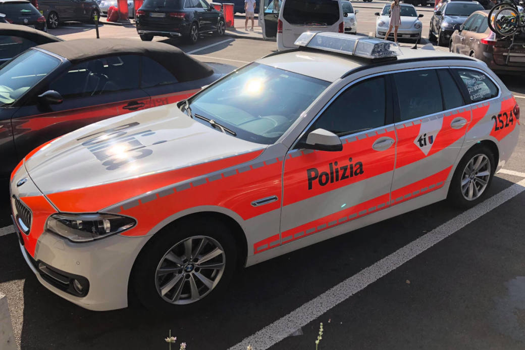Tessiner Polizei Symbolbild