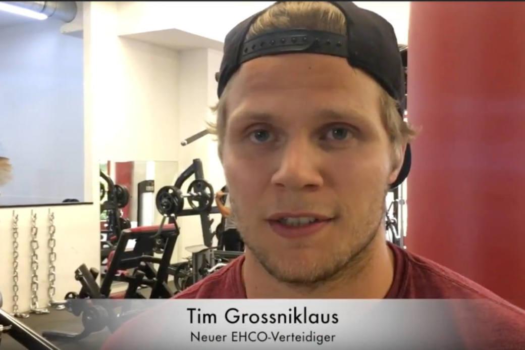 Tim Grossniklaus im Sommertraining