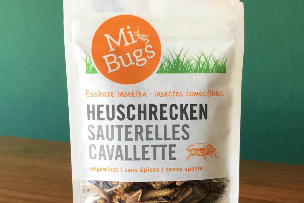 Insekten sind nun erhältlich