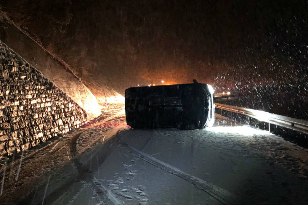 Verkehrsunfall in Schluein
