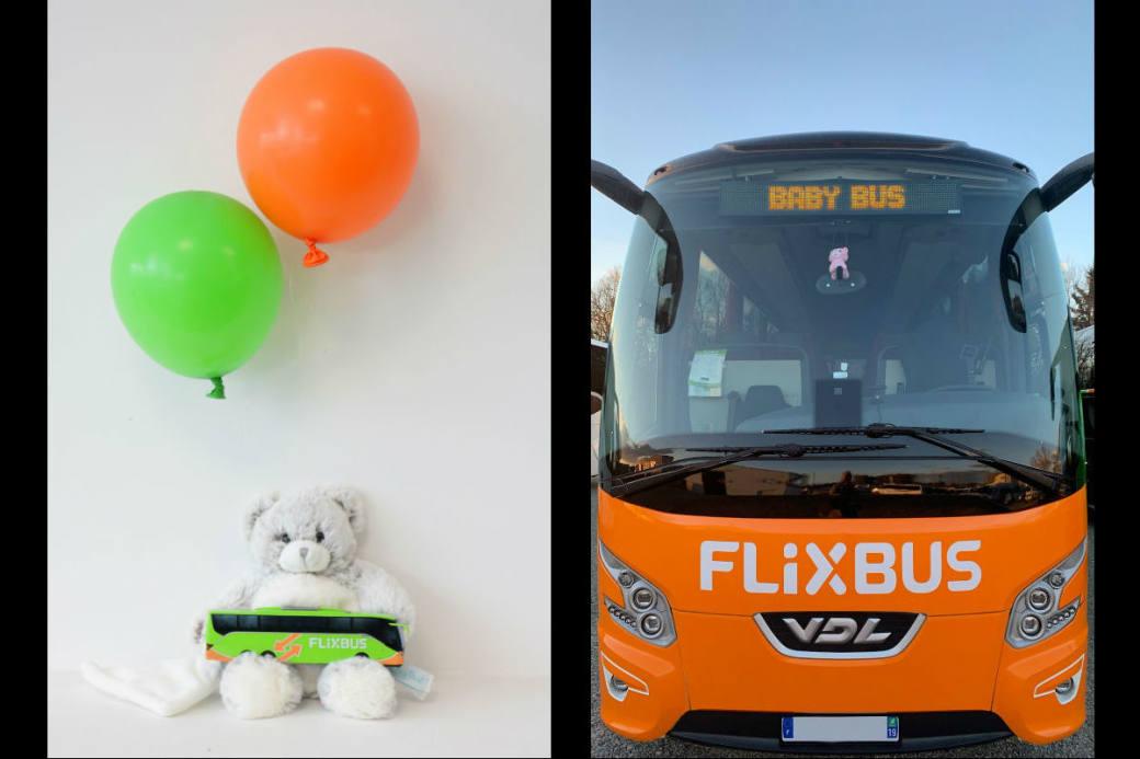 Im FlixBus kam erstmals ein Kind zur Welt.