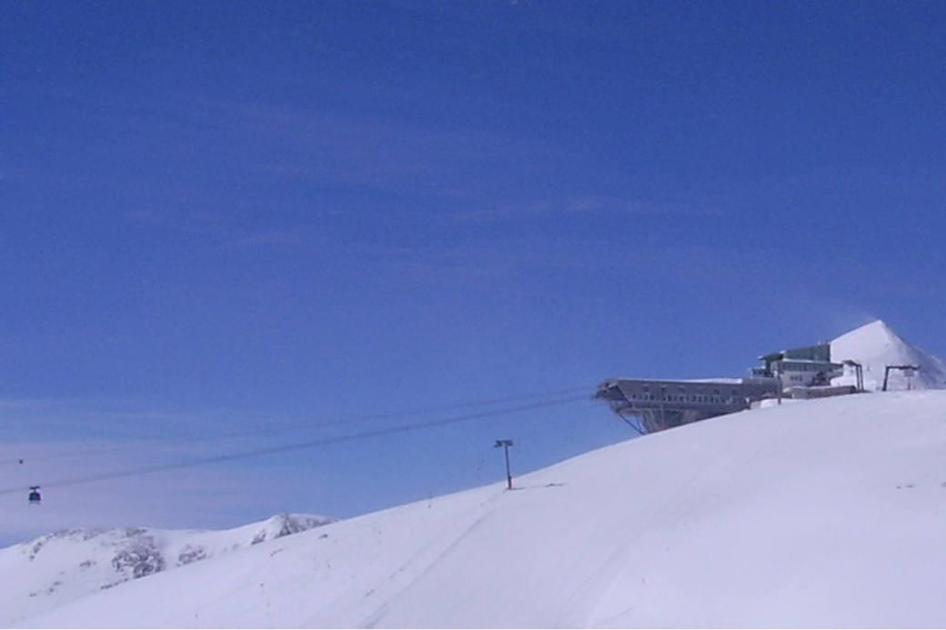 Bergstation Plaine-Morte oberhalb von Crans-Montana.