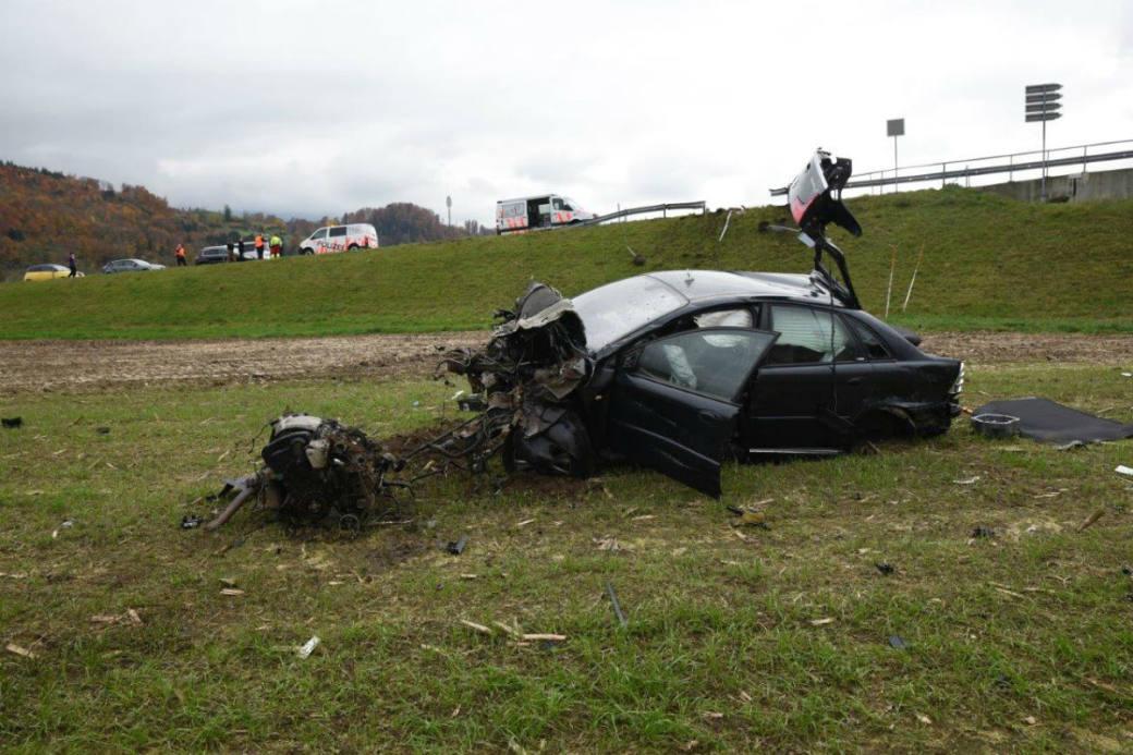 Verkehrsunfall in Alpnach